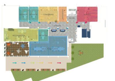 Aménagement des espaces communs d'une entreprise
