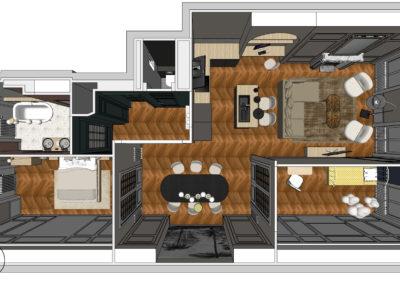 Appartement cours Vitton